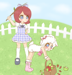 Mary had a little lamb~ (spanking content) by Pastel-Hime