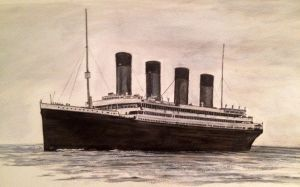 RMS Olympic by Pictaview