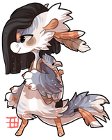 #425 Charity Mythical bagbean - Hippogriff - Close by griffsnuff