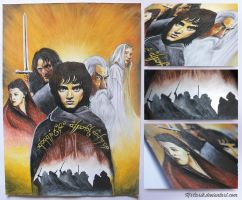 The Lord of the rings by MrCarik