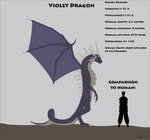 Fantasy Race: Violet Dragon by Kurvos