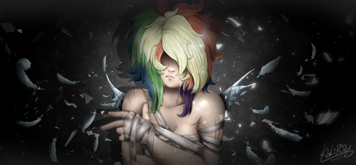 MLP: ''Shattered Into Pieces'' by KikiRDCZ