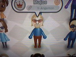Pretty much the ONLY Mujoe Mii by YoshiAngemon