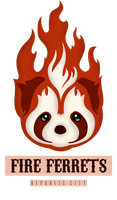Fire Ferrets - Vector by eduardowar