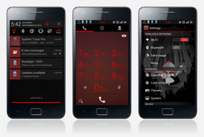 Hot Red CM9/CM10 Theme by nitinvaid20