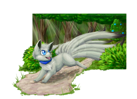 Ninetails Forest [Com] by Uluri