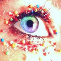 Candy Eye. by Lea-Chausson-Lallier