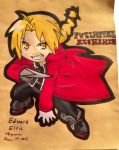 Edward Elric by Espevoirvee