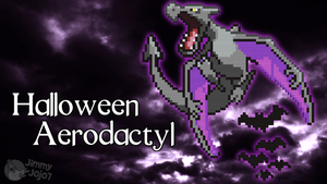 H'ween Aerodactyl (H'ween Special) (w/ Timelapse) by PkmnMc