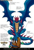 Pokedex 621 - Druddigon FR by Pokemon-FR