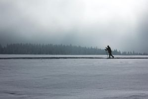 cross-country skiing by Constantine87