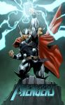 Thor sketch cover by spidermanfan2099