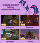 Twilight Sparkle's library in ACNL(Update) by kwark85