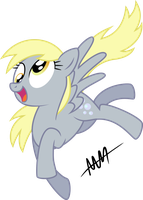Derpy is Happy! by Drewdini