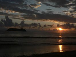 Costa Rican Sunset by MonarchzMan