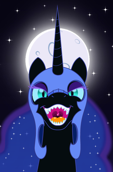 Dark Full Moon by BBBHuey