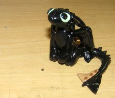Mini Cartoon Toothless by ByToothAndClaw