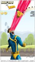 Angry birds versus X-Men by PAabloO