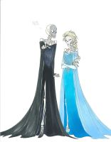 Everything must be dressed as Elsa by LadyoftheGeneral