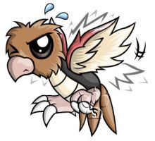 Spearow Chibi by RedPawDesigns