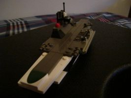Lego Aircraft carrier by Taggerung1