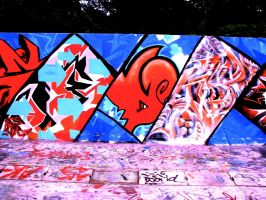 Gas Chamber Graft Jam 2008 by silifulz