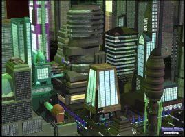 City Of The Future by froggy-hicks
