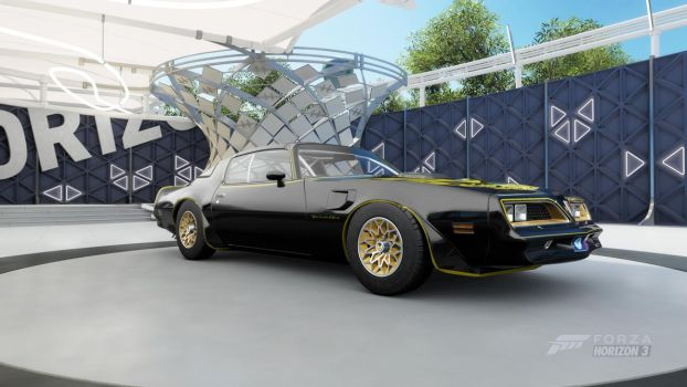 Honorable Mention: 1977 Pontiac Firebird Trans Am by JerichoRaccoon941