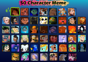 My 50 Favorite Characters by Universal-Tiger