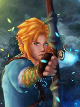 Link - Breath of the Wild by SeerStuff