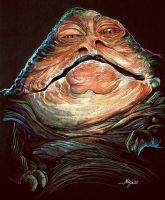 Jabba the Hutt by Ninjacompany