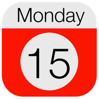 iOS 7 Calender icon by janosch500
