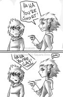 haha, You're not Funny -Comic by superfizz