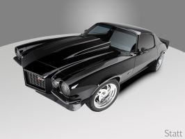 1971 Chevy Camaro Z28 by Statt