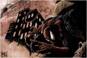 spiderman old picture by logicfun