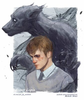 Remus Lupin / Werewolf by Michelle-Winer