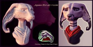 Jigsaw- Model Request #1 by Gashu-Monsata