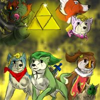 Zelda WW:Ginga style by Gingafreack