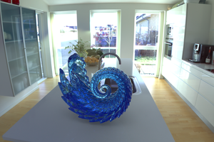 The Wave Sculpture 2 by Tate27kh
