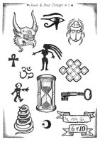 Tattoo Flash 6 by mikegee777