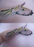 Horse hand by jenity