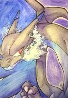 Charizard-X by breIoom