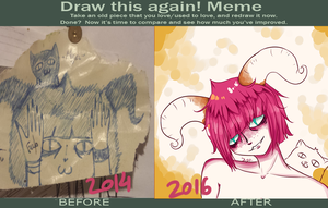 Meme-Before And After (2) by Kana-chan23