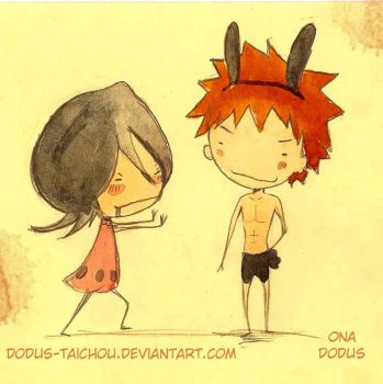 IchiRuki Week Day 4 Seduction by Dodus-Taichou