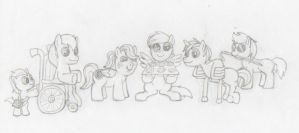 My Special Ponies by InuLuverHana89