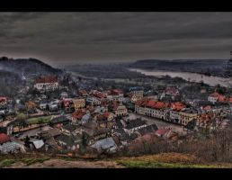 Kazimierz Dolny - from hill by mysterious-one