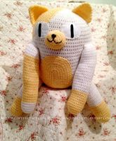 Cake the Cat (FOR SALE) by Pikacheekz