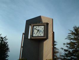 Stock - College Clock Tower 1 by pandrogas