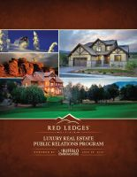 Red Ledges Proposal Cover by kriecheque