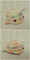 Rainbow Splash Narwhal by judithchen